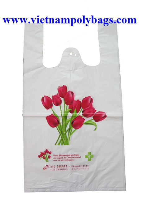 T shirt plastic bags for Plastic bags for t shirts